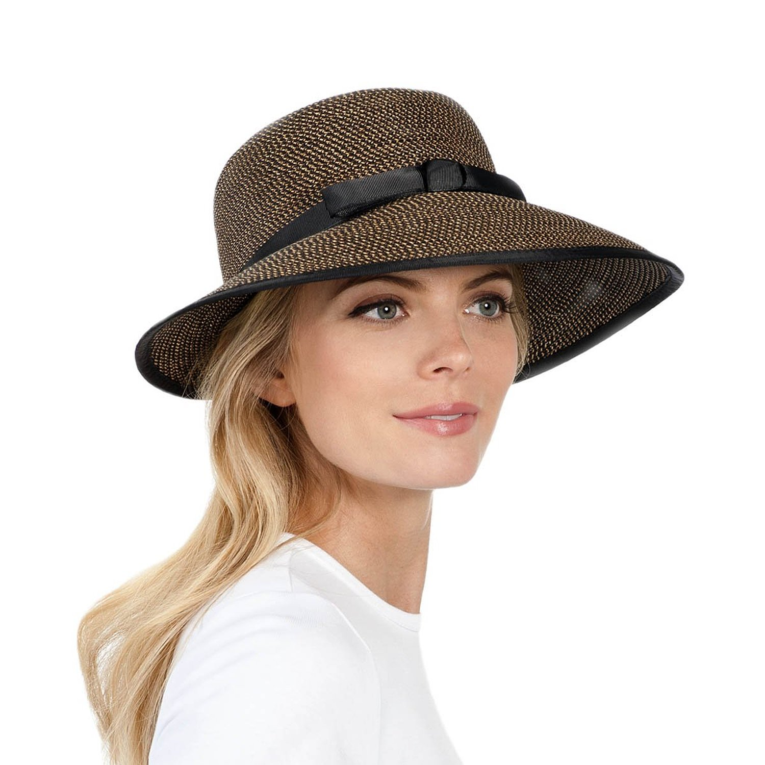 6020df141e1 Get Quotations · Eric Javits Luxury Woman s Hat Squishee Cap Antique Black