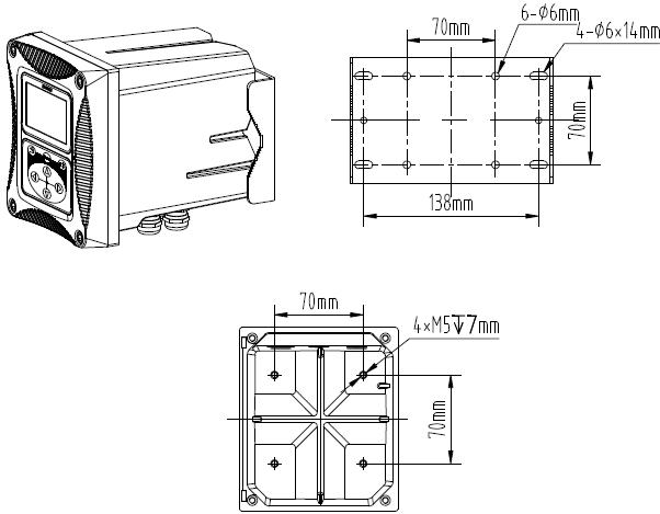 Alta calidad oxígeno disuelto transmisor controlador medidor para tratamiento de aguas residuales