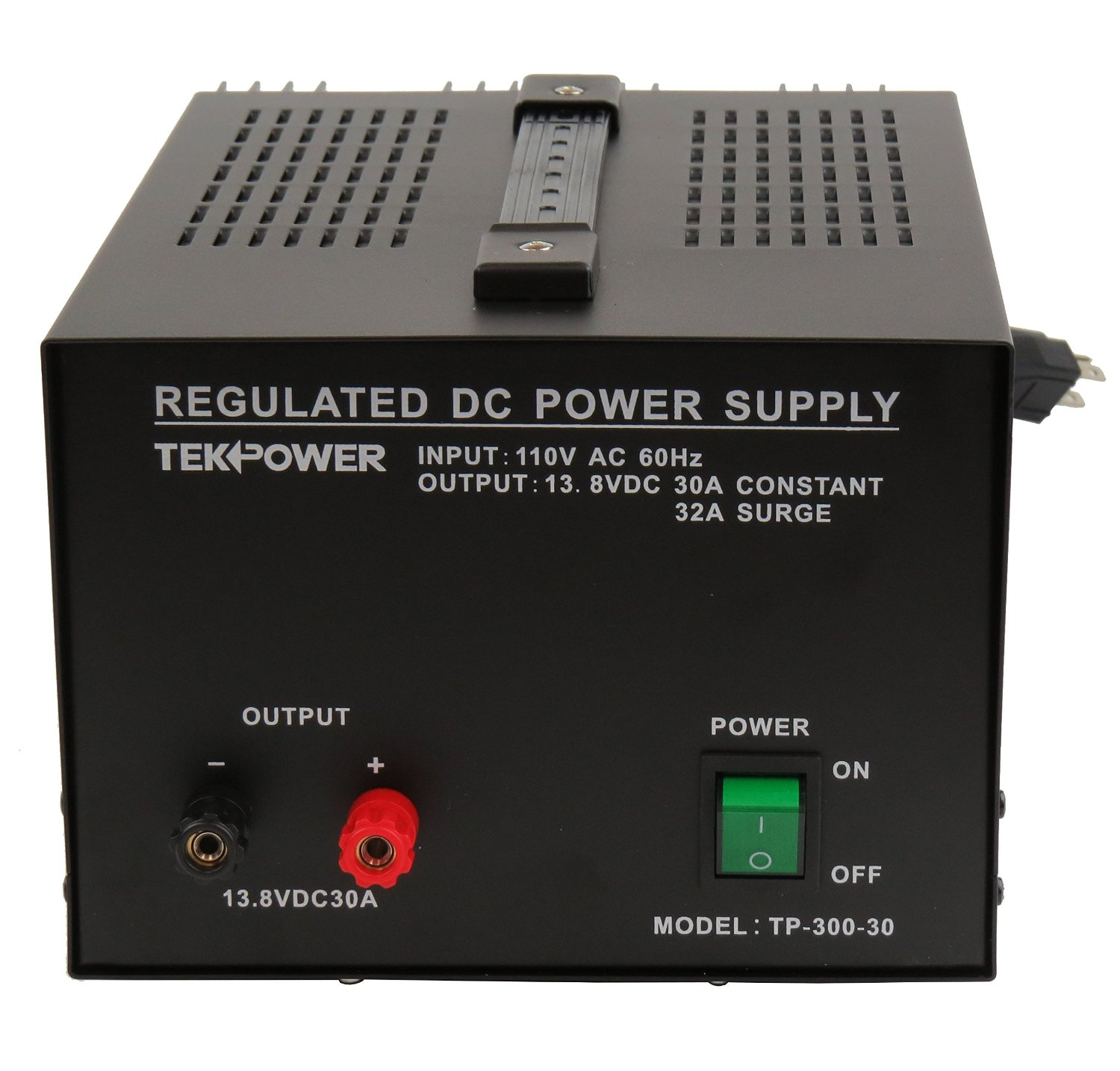 TekPower TP300-30 30 Amp DC 13.8V Regulated Power Supply with Fuse Protection (30A)