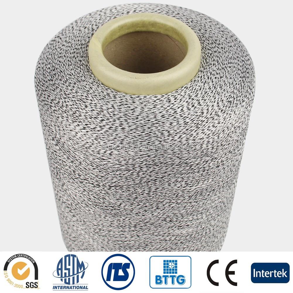 Basalt HPPE UHMPE Elastic Fiber Cut Resistant Yarn EN 5 Food grade anti cut yarn for glove knitting