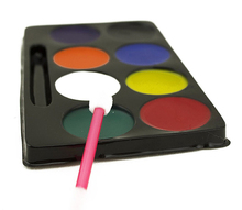 private label 6/8 colors face body painting set palette make up party body face paint for kids