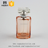 empty octagon bottom colored glass bottles sale for perfume packaging