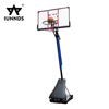 Portable 10 foot acrylic backboard adjustable basketball hoop stand for sale