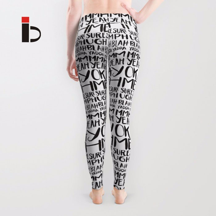 Star leggings For the female printing elastic sports fitness dance tight leggings