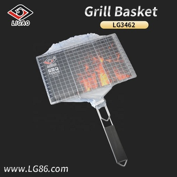 Durable and customizable bbq mesh with shrink bag outside