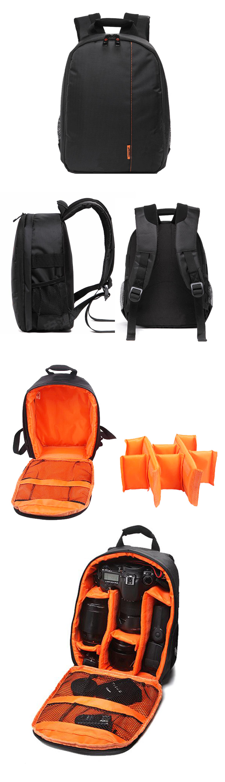 High Quality waterproof camera backpack bag