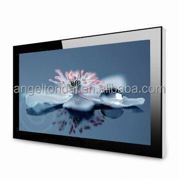 musical instrument display cabinet 26 inch frameless lcd DISPLAY