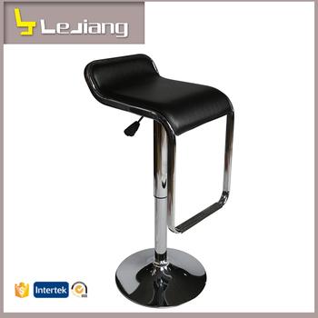 Bon Italian Design Pvc Top Metal Base Bar Stool High Chair Modern Bar Chair  Price Kitchen Stools