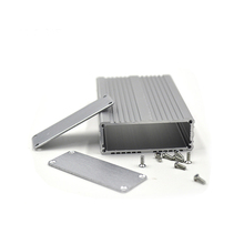 extruded aluminum enclosure diecase junction box for pcb custom aluminum enclosure