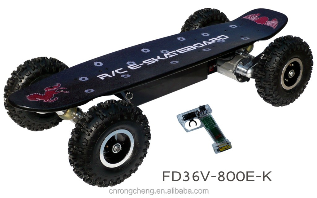 off road electric skateboard 800W