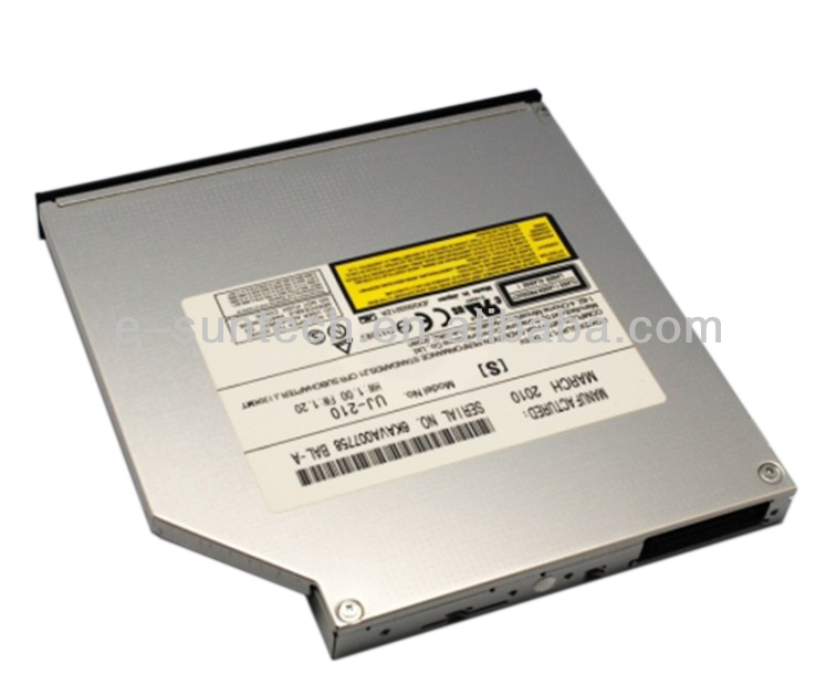 UJ210 Alibaba Wholesale Ultra Slim 12.7mm IDE(PATA) Tray Load Laptop Internal Blu-ray Burner/CD/DVD Drive
