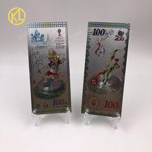 RU002 1 шт Красочный 2018 Ограниченная серия дизайнерский футбольный российский спортивный талисман для фанатов сувенирные подарки и коллекция(Китай)