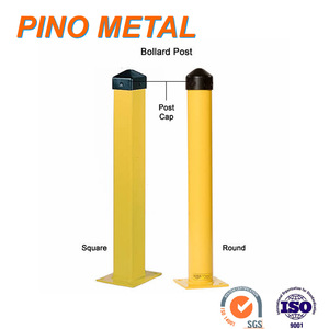 Factory Metal Steel Safety Protection Bollard Posts