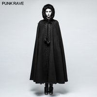 Y-790 Gothic Hooded women coat Costumes Full Length Women Cloak halloween cloak