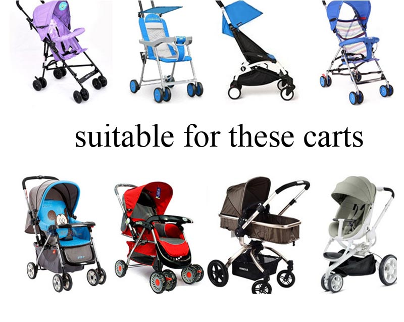 Baby Stroller Accessories Universal Waterproof Rain Cover Wind Dust Shield Zipper Open For Baby Strollers Pushchairs To Enjoy High Reputation At Home And Abroad Strollers Accessories