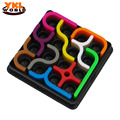 10pcs set New Arrival IQ link Puzzles Tetris Toys Child Jigsaw Puzzle Learning Educational Toys For