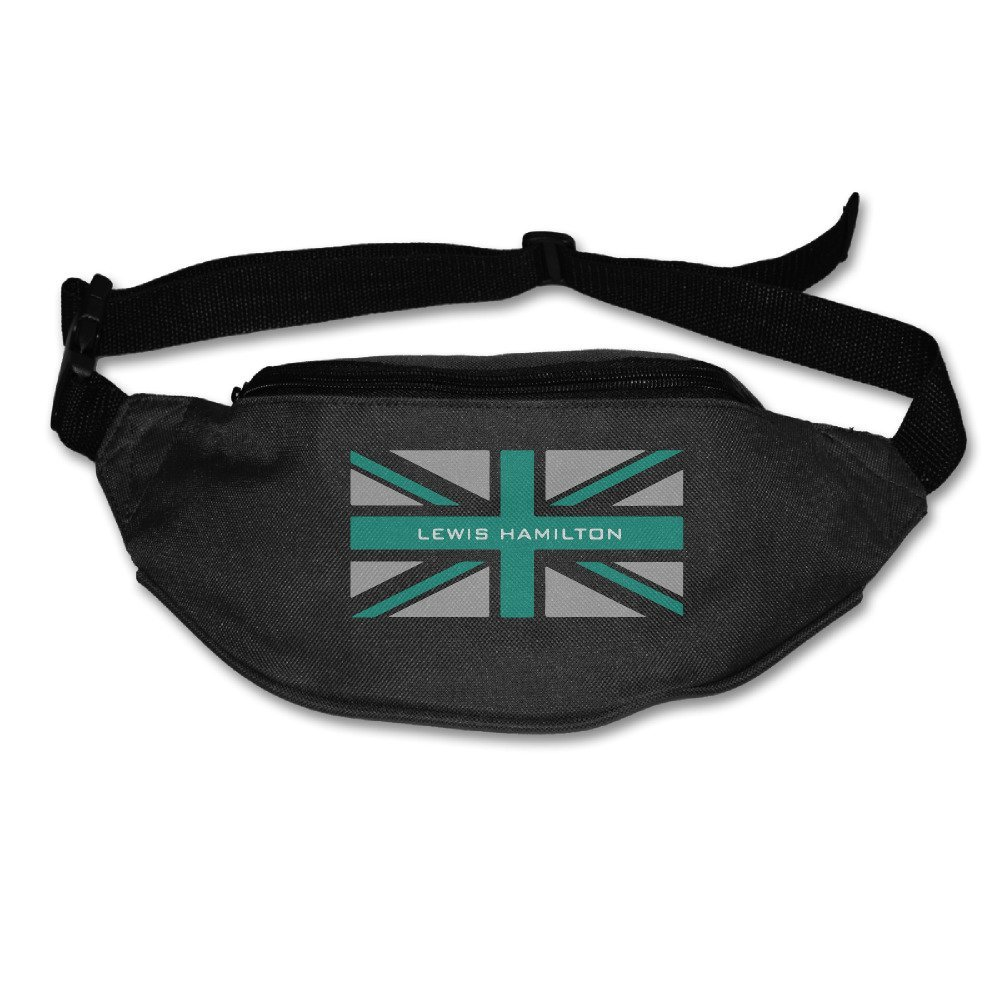 Casual Lewis Hamilton F1 Racing Waist Bag Outdoors Packs Unisex