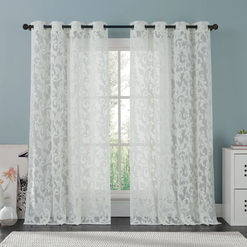 Wholesales 100 100 Polyester Curtains Window Door Rideaux Turc Style ...