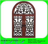 antique wrought iron window grill for sale