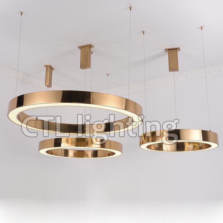 Circolare Lampadari Sala Da Pranzo Lampade Moderne Luce Del Pendente ...