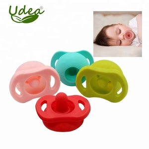Food grade silicone adult pacifier nipple in pop design