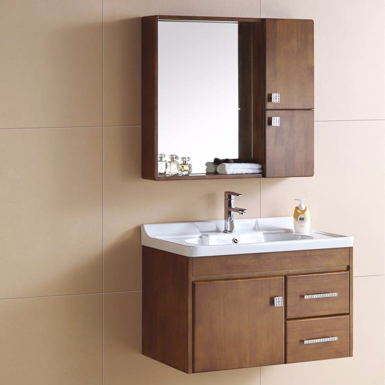 Bathroom Counter Wash Basin Wooden Cabinet - Buy Wooden ...