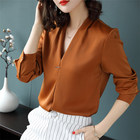 Latest fashion top selling elegant women's blouses & shirts