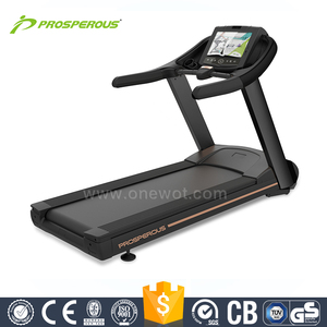 AC 220V Motorized Luxury Commercial Electric Easy Installment Treadmill for Home Fitness