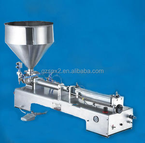 spx e liquid filling machine for shampoo,lotion,hair conditional