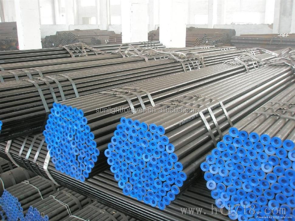 Material Hot Rolled Steel Galvanized Round Pipe For Ship Building From TIANJIN Supplier / ms galvnaized iron pipe