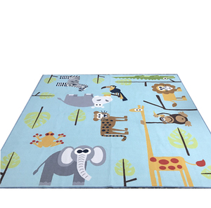 Fashionable Kids Carpet Playmat with Custom Design