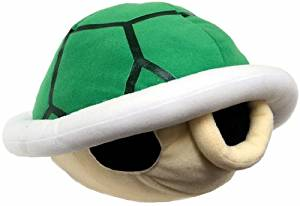 Super Mario Bros. Wii Sound Plush Green Koopa Shell by Global Holdings