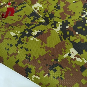 High quality promotion 600D pvc military waterproof camouflage fabric for sport bags