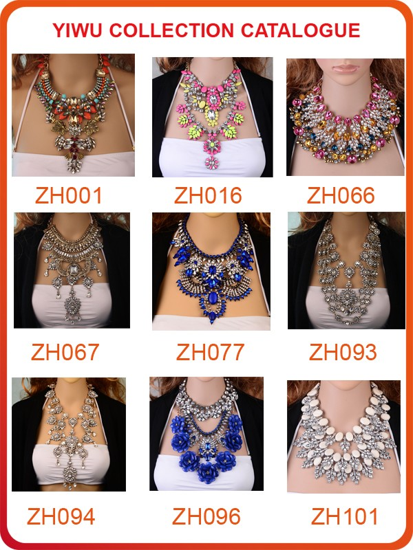 Thousands Styles 2016 Wholesale Statement Necklace,Imitation ...