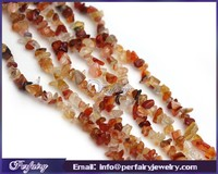 discont loose small cheap carnelian chips natural gemstone necklace for sale