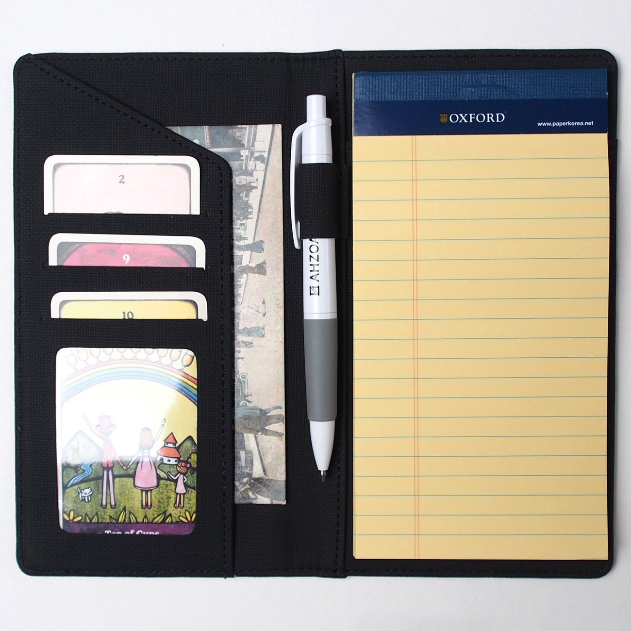 buy ahzoa colorful 4 pockets a5 size memo padfolio s1