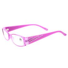 Oulylan, классические женские очки для чтения, алмазная смола, дальнозоркость, очки по рецепту, женские Стразы, очки для чтения + 1,0 3,5(Китай)