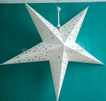 Chinese Paper Star Lanterns For Christmas