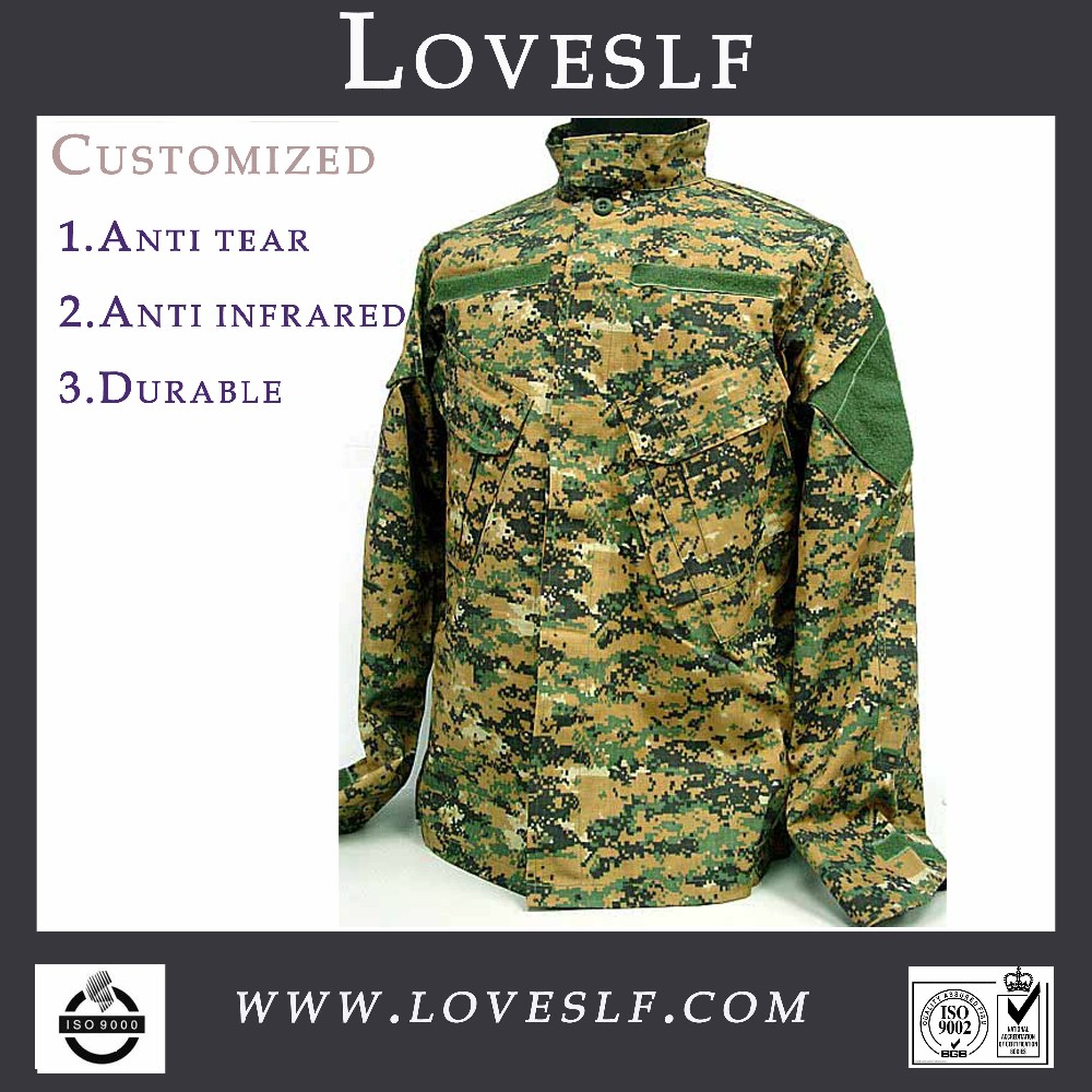 Loveslf third generation jungle camouflage military army combat uniform