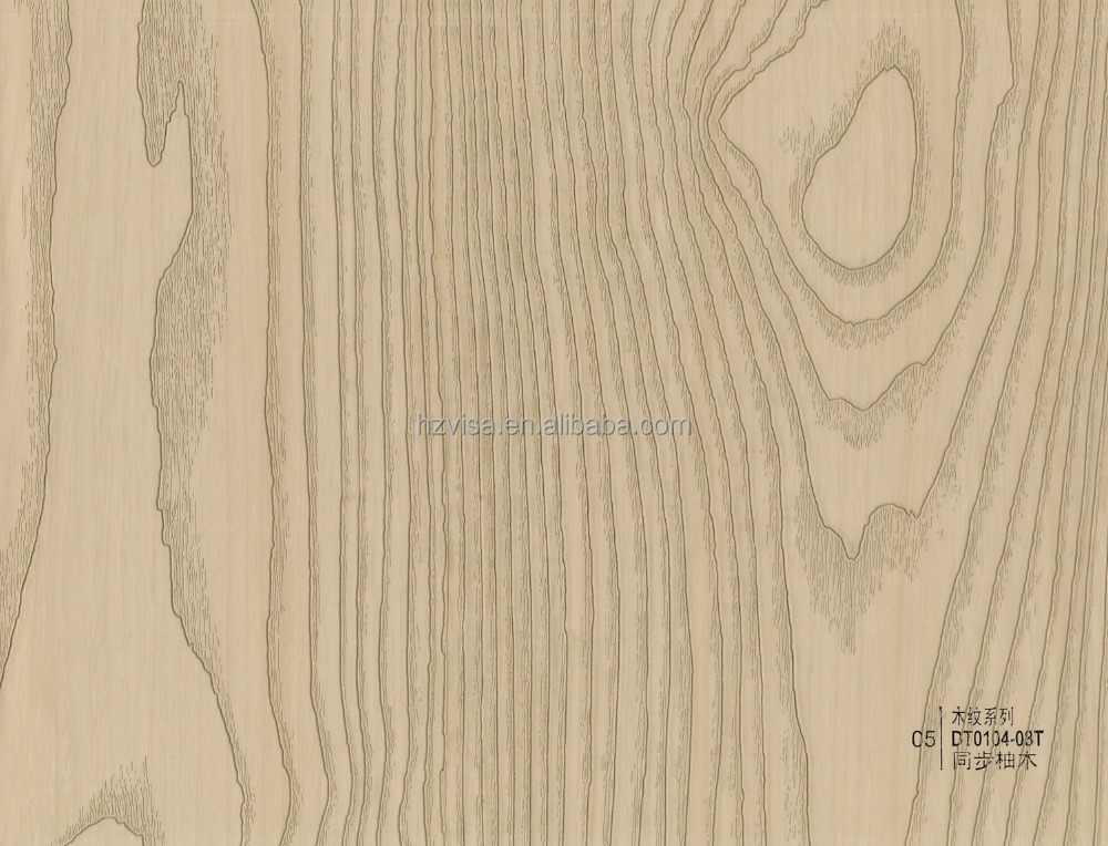 2017 Nuture eco-friendly wood grain PVC membranes
