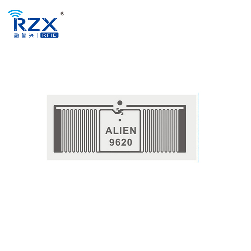 Free Sample 860 to 960Mhz UHF Alien H3 9620 RFID Label Wet Inlay