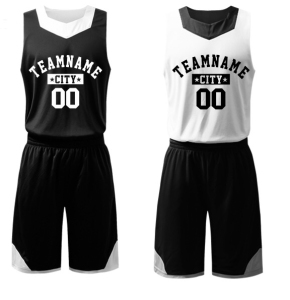 a3154ecc7a3a Basketball Jersey White And Black