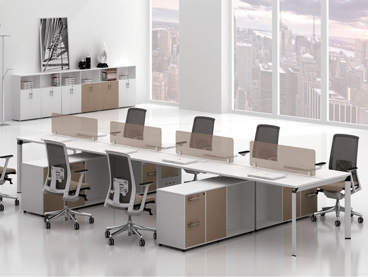 Mordern design sfs c series system office furniture white Open office furniture