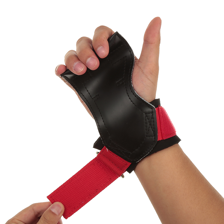 Professional Made <strong>Weight</strong> Lifting Gym Training Grips For Palm Protection