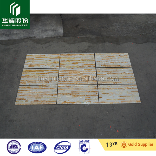 factory wholesale price onyx polished composite tile with free sample