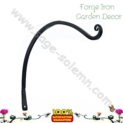 China Alibaba Factory Forged Iron Plant Hanging Hook Hanging Basket