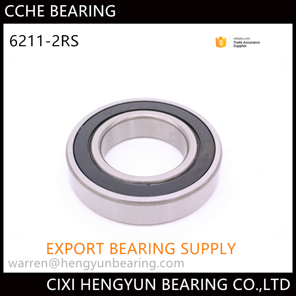 China Manufacturer Provide High Quality Ball spinner bearing 6211 2RS