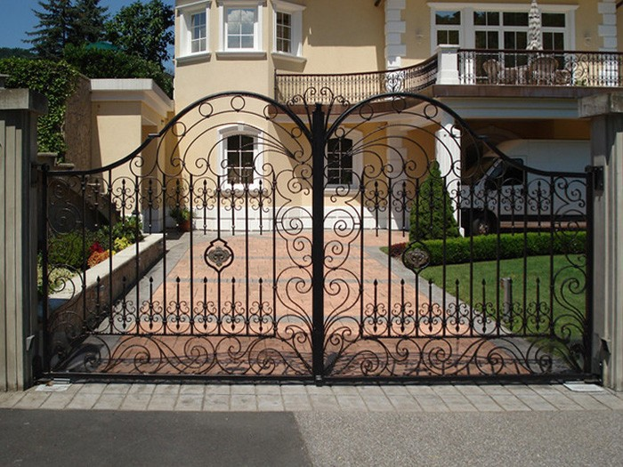 Pics For Simple Iron Gate Design