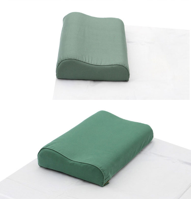 Hot sale comfortable military army green pillow for army military  pillow