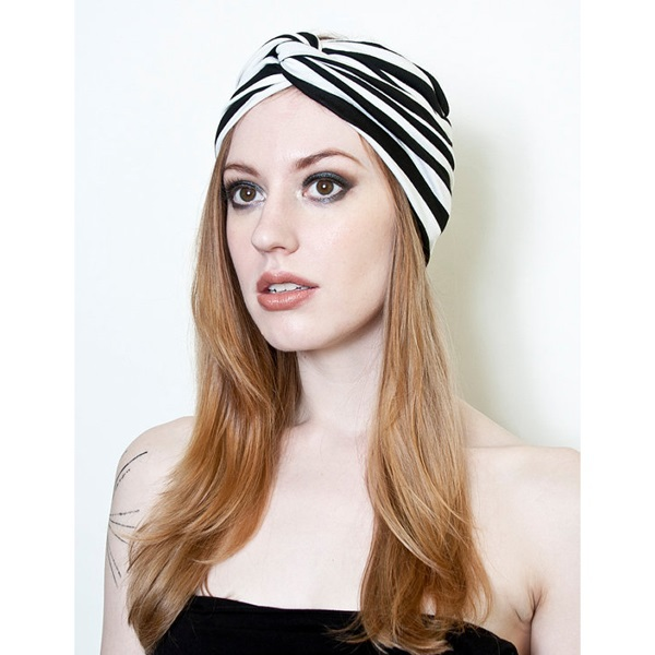d8a103bef Buy Fashion women headbands Girl Black white stripe elastic hair  accessoires Bohemia style Sport washing Stretch Head wrap 1PC WH207 in  Cheap Price on ...